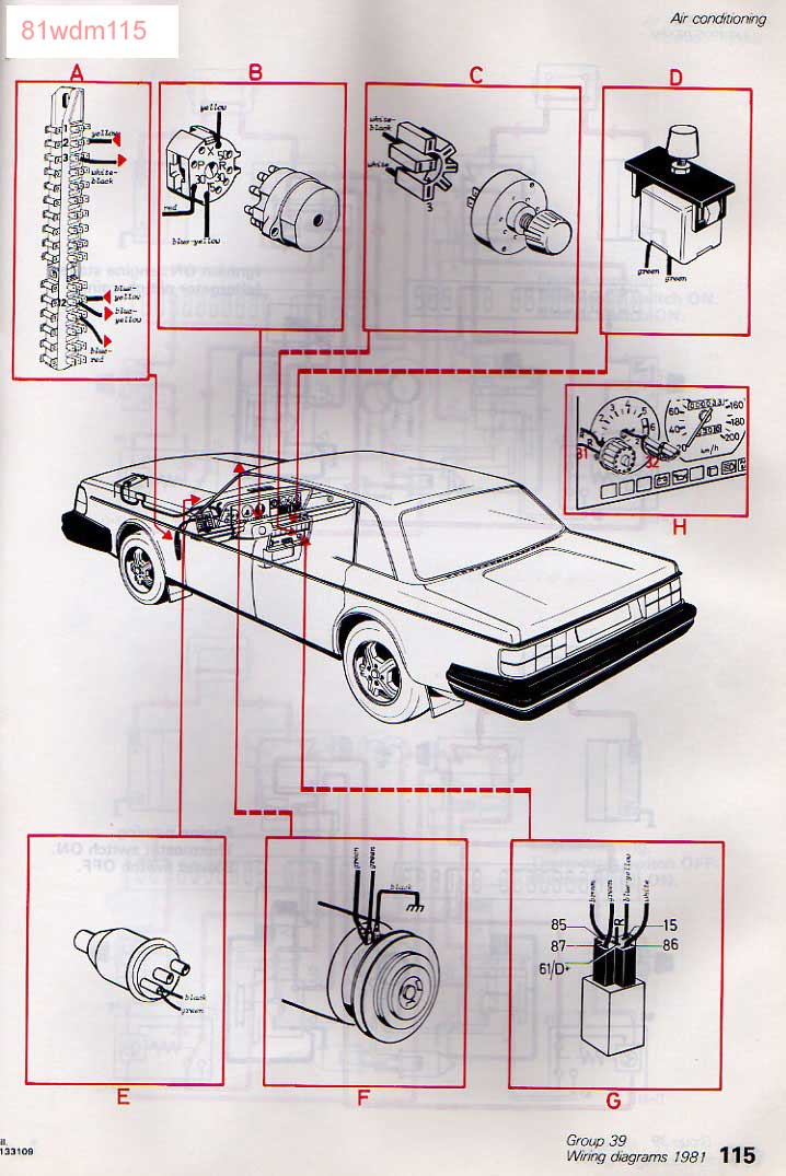 1993 Volvo 240 Stereo Wiring Diagram : Volvo wiring diagram  images