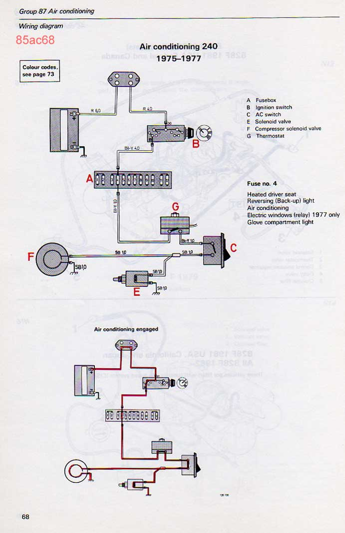 1977 volvo 240 fuse box diagram   31 wiring diagram images
