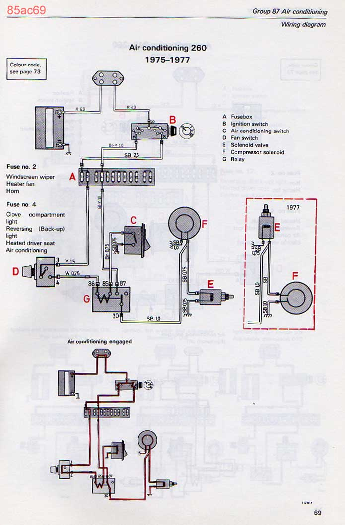 85ac69 volvo 240 ac notes 1992 volvo 240 wiring diagram at edmiracle.co
