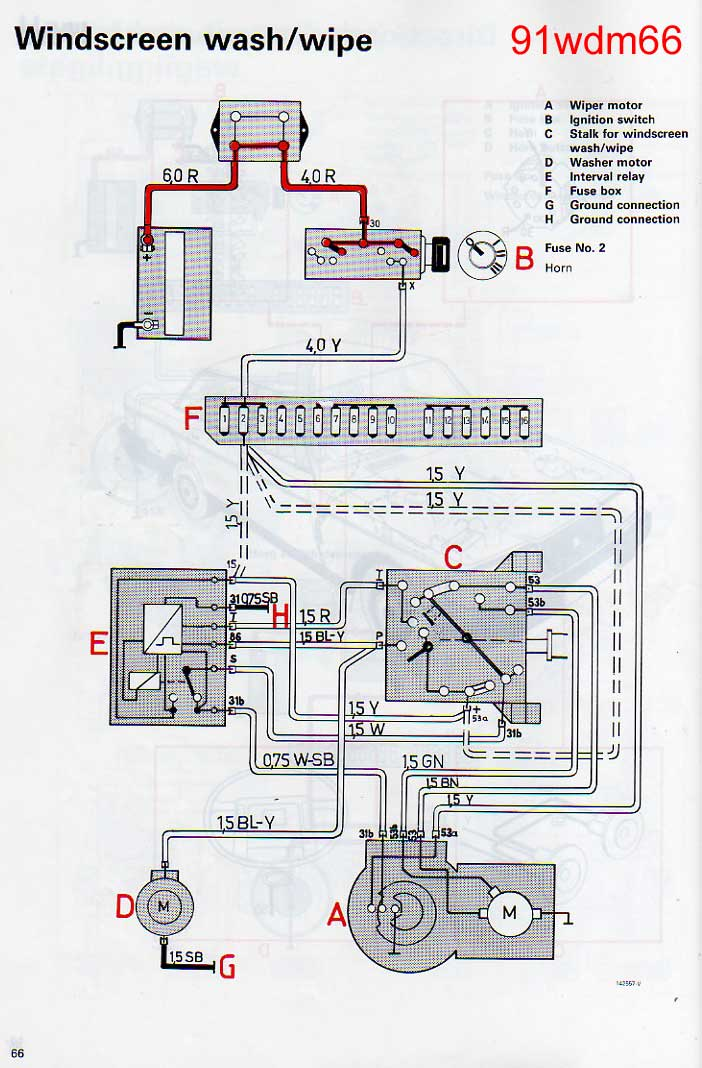 volvo 240 wiper wiring diagram 1989 volvo 240 ignition wiring diagram