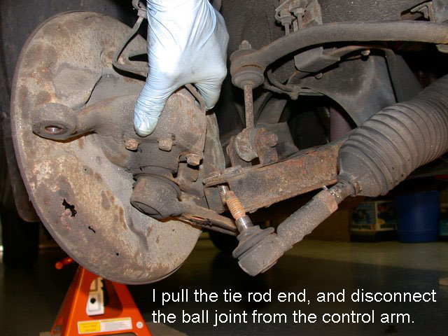 240 Volvo Ball Joint Replacement