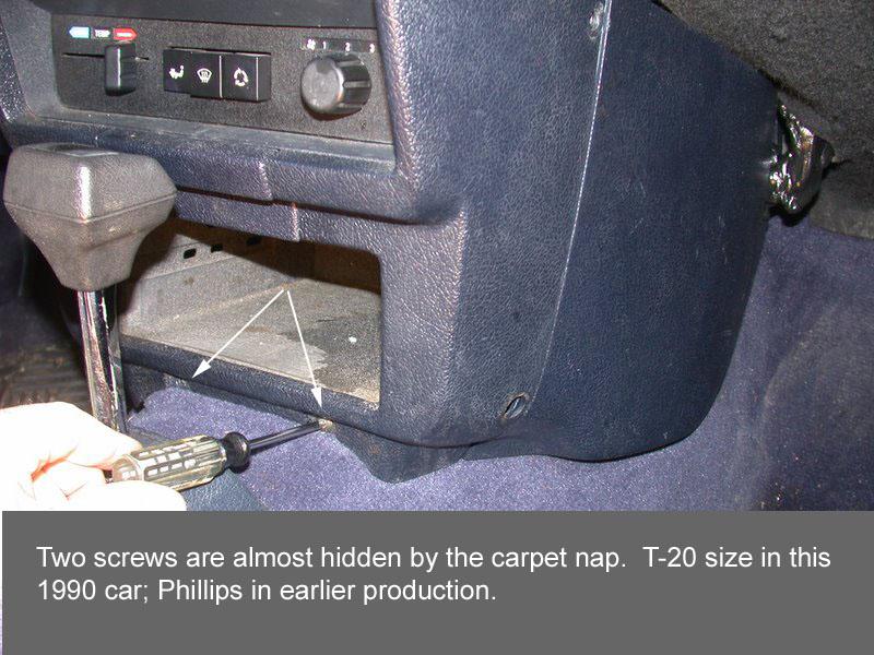 Volvo 240 Radio - Dash Held In By Screws - Volvo 240 Radio