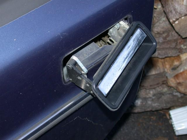 Volvo 240 Door Handle Repairs