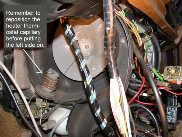 Volvo 240 Heater Ac Blower Fan Motor Replacement