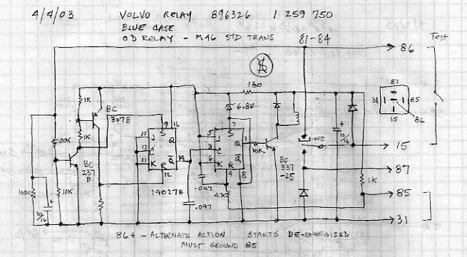 240 M46 Overdrive Relay Pinout/Wiring Diagram? - Turbobricks Forums | Volvo 240 Overdrive Wiring Diagram |  | Turbobricks Forums