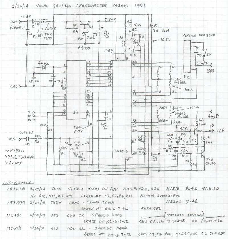 Volvo Instrument Panel Wiring Diagram