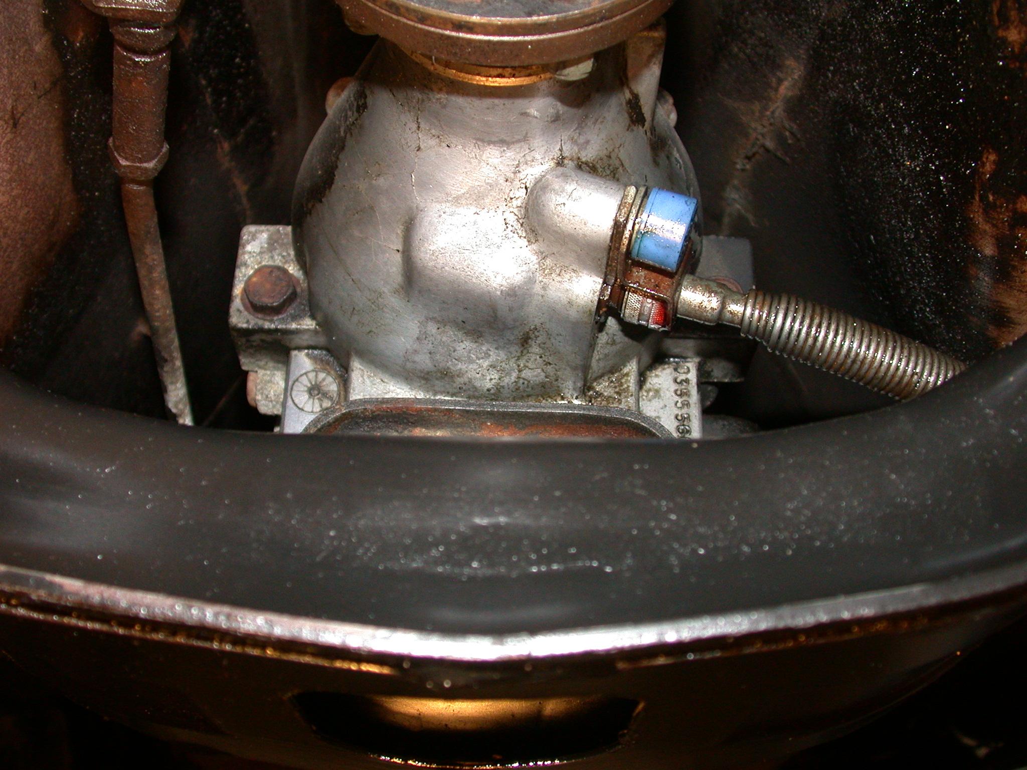 Replace Speedometer Pinion Seal Volvo 240 Aisin Warner