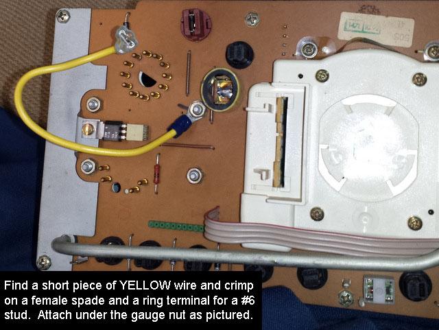 volvo tachometer wiring wiring diagram third level Sunpro Tach Wiring