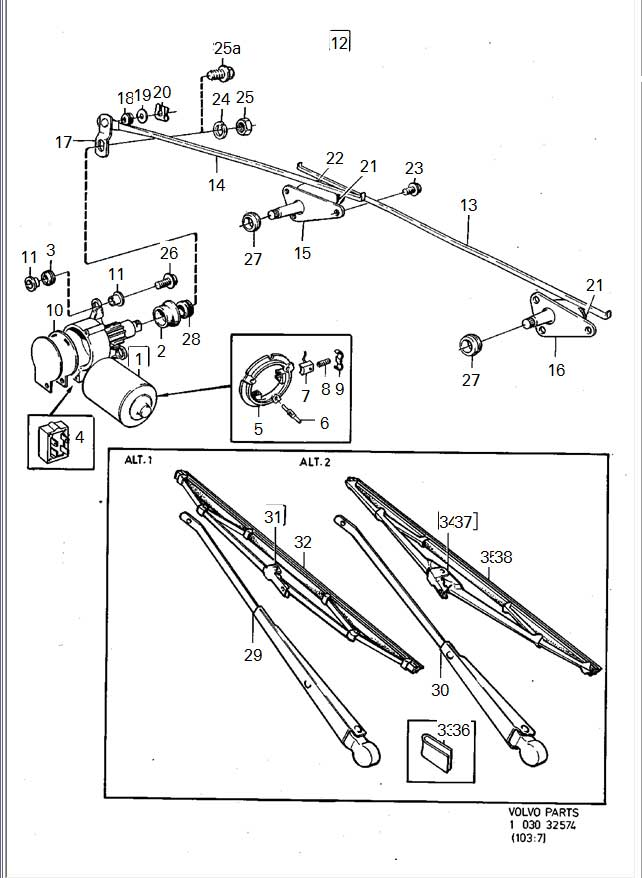 Notes On 240 Volvo Windscreen Wipers