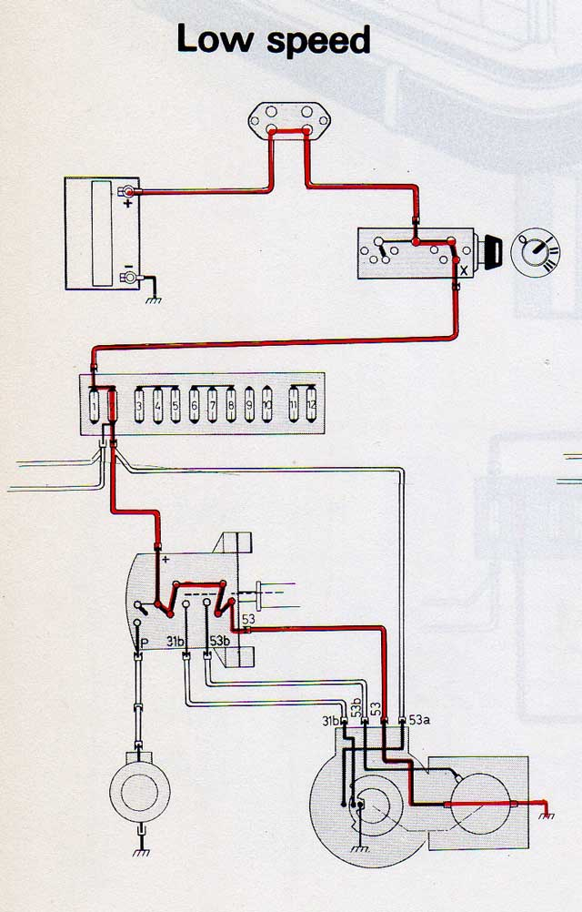 wipers_low notes on 240 volvo windscreen wipers 1988 volvo 240 wiring diagram at mifinder.co