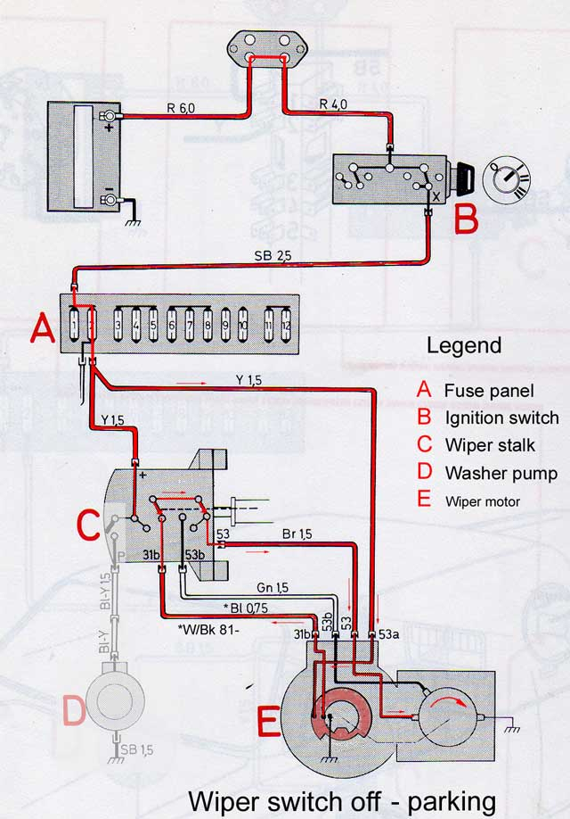 wipers_parking wiper wiring diagram wiper wiring diagram 67 firebird \u2022 wiring  at bayanpartner.co