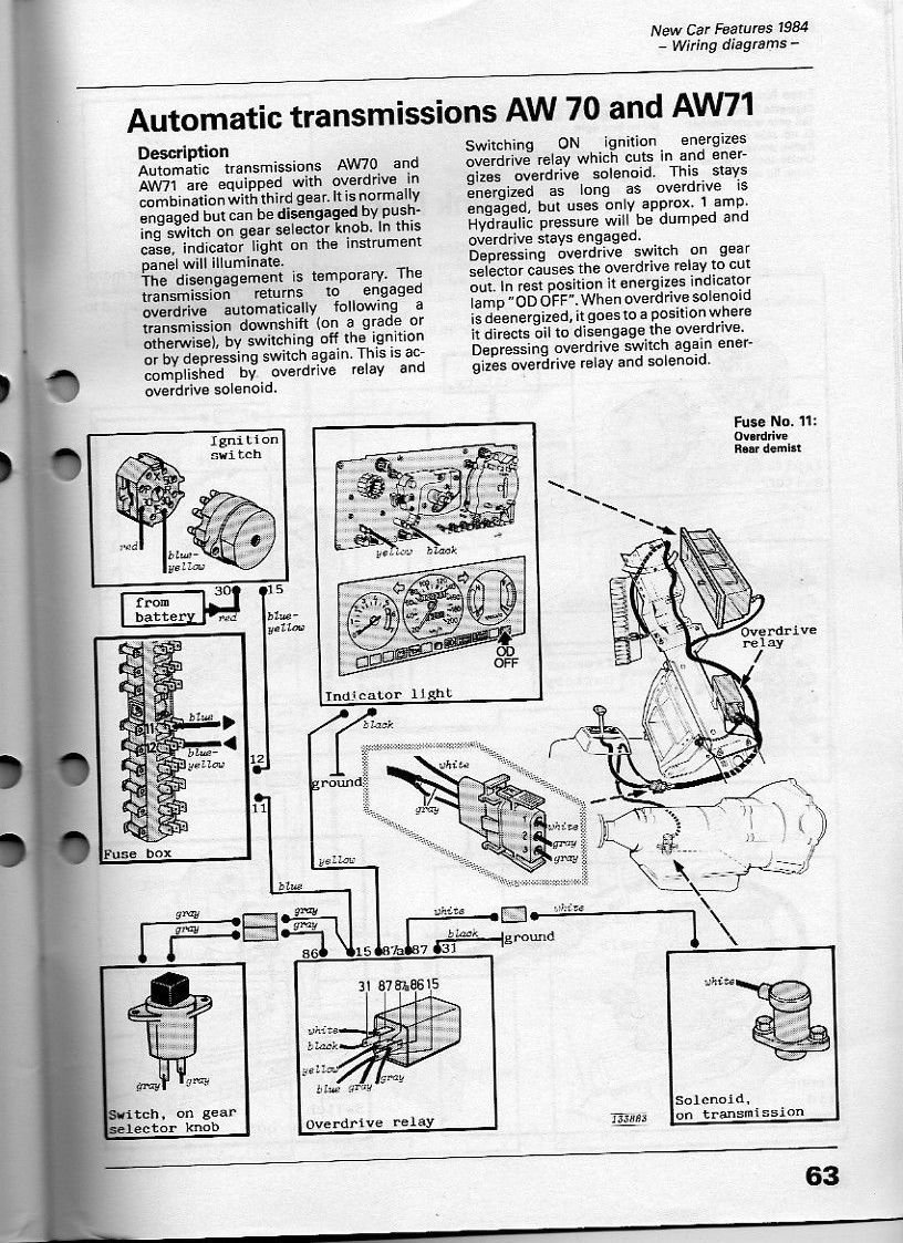 Volvo 240 Overdrive Wiring Diagram Data Diagrams 1989 740 M46 Vs Aw70 71 Rh Cleanflametrap Com Alternator